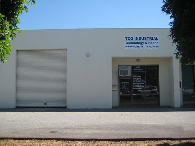 Dermaray Australia head office and show room.